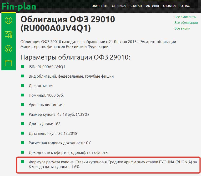 ОФЗ-29010 ПК